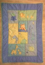 Child Mine Carters Baby Crib Blanket Comforter Jungle You Are My Sunshine Blue