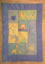 Child Mine Carters Baby Crib Blanket Comforter Jungle You Are My Sunshine Blue