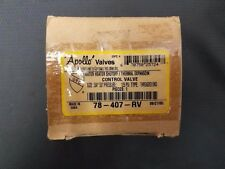 Apollo Water Heater Shutoff/ Thermal Expansion Control Valve 78-407-RV
