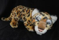 """16"""" VINTAGE 1995 CONSERVATION COLLECTION LEOPARD CUB STUFFED ANIMAL PLUSH TOY"""