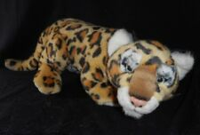 "16"" VINTAGE 1995 CONSERVATION COLLECTION LEOPARD CUB STUFFED ANIMAL PLUSH TOY"