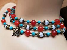Unbehandelte Echtschmuck-Halsketten aus Metall-Legierung