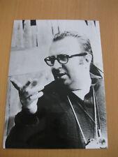 Sergio Leone Pressefoto Autogrammkarte es war einmal in Amerika Once upon a time