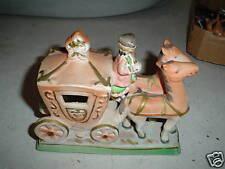 Vintage Fairyland China Japan Cinderella Coach Figurine
