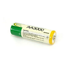 100 pcs AA LR06 3000mAh 1.2V NI-MH rechargeable battery CELL/RC 2A BTY Green