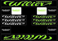 WILIER Bicycle Bike Frame Decals Sticker Adhesive Graphic Vinyl Aufkleber Green