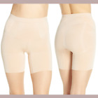 New 62 Spanx Oncore Mid Thigh Shorts Nude  Sz Small  2779