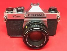"""Pentax K1000 with 50mm f/2.0 lens """"STUDENT CAMERA"""" 8389444"""