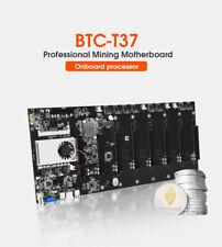 BTC-37 USA Ship Riserless Mining Motherboard 8Gpu Bitcoin Crypto Ethereum Mining
