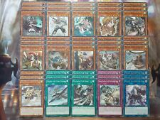 Yugioh Tournament Ready to Play Fur Hire 45 Card Deck Beat Bladesman Fur Hire NM