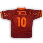Original AS Roma 1999/2000 Home Football Shirt Maglia Calcio Diadora TOTTI 10 L