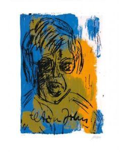 Armin Müller-Stahl, Elton John, Original Graphik, NEU, Kunst, Geschenk