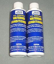(2) Blue Magic All Purpose Waterbed Conditioner 2 years 8 oz. Priority Shipping
