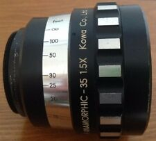 Kowa 35 X1.5 anamorphic lens for film et appareils photo numériques