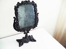 Victorian Cast Iron Mid-Late 19th Century Vanity Shaving Swivel Mirror Original
