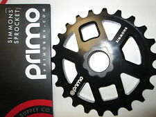 PRIMO SIMMONS SPLINE DRIVE 22mm X 48sline BMX bike SPROCKET 23 tooth gear new