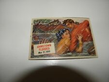 1954 Topps Scoop #73 Johnstown Flooded May 31, 1889 EXC
