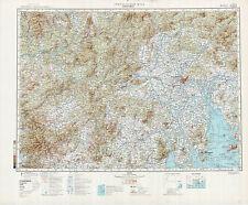 Russian Soviet Military Topographic Maps – GUANGZHOU (China), 1:500K, ed.1983
