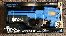 New NERF Nerf Rival Charger MXX -1200 Motorized Blue Blaster