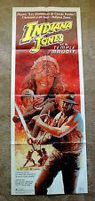 Vintage Original 1984 - Indiana Jones - TEMPLE OF DOOM  Movie Poster 1sh Film