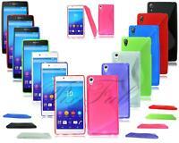 New Gel Phone Case Cover For Sony Xperia  Z5 E6603 E6653 & Z5 Compact Mini