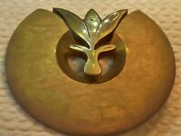 Langani signed huge vintage Modernist brooch