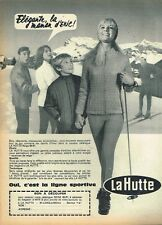 M- Publicité Advertising 1966 Les Vetements de sport Shi La Hutte