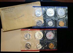 1960 US Mint set Silver coinage (P & D coins)