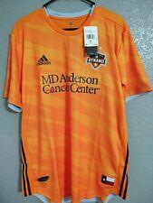 Houston Dynamo Adidas 2019 Primary Authentic Jersey - Orange Size XL NWT
