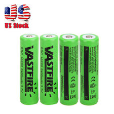 4x VASTFIRE 18650 3.7V 2400mAh Li-ion Rechargeable Batteries For LED Flashlight