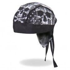 Skull Flag Bandana Foulard Bandeau capuche Biker Chopper Cap Motard Harley Gothic Rock
