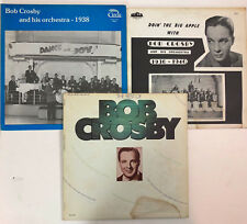 BOB CROSBY 3 x LP LOT VG+ to EX vinyl :  Best Of / 1938 / 1936-1940
