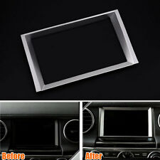 For Land Rover LR4 Discovery4  2010-2016 Car GPS Inner Navigation Frame Cover