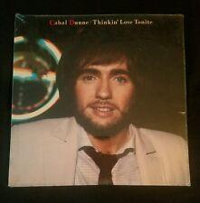 Cahal Dunne LP Thinkin' Love Tonite sealed new 1985 record album Blarney Records