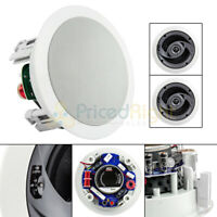 "5.25"" In Ceiling Speaker Home Theater 60W 8 Ohm 2 Way Pair MTX Audio CT520C"