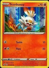 Scorbunny HOLO Black Star Collection - RARE 031 Pokemon Card NM/MT