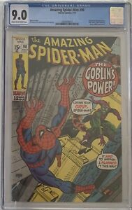 Amazing Spider-Man #98 Green Goblin Drug Issue Gil Kane & Stan lee 1971 CGC 9.0
