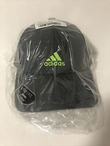 Adidas Youth Decision Cap Adjustable Fit Hat Gray