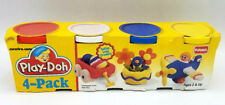 1994 Vintage play-doh 4 Pack Modeling Clay Retro 90s Toys Lot Antique New - READ