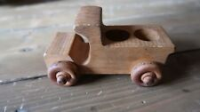 Vintage Hand Made Wood Truck 5""
