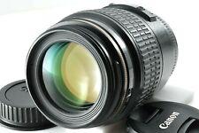 [Near Mint] Canon MACRO LENS EF 100mm f/2.8 USM w/Hood by DHL from Japan #761