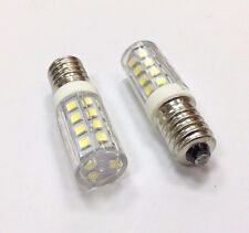 2X  LED SMD Sewing Machine Bulbs (Globes)   E14  3W 6000K Ultra-Bright