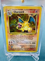 Charizard HOLO Base Set pokemon card 4/102 Holy Grail CENTERED PSA BGS Gradable