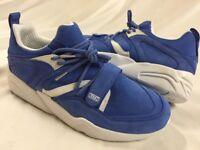 Puma Blaze Of Glory  Ronnie Fieg &Colette Size 6.5 US Blue/White,Uk 5.5 Eur 38.5