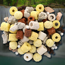 Aquarium Porous Ceramic Filter Media Biological FishTank Nitrifying Bacteriahot