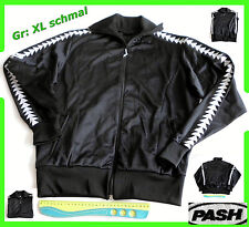 Trainingsjacke Pash Trainings Jacke Sweatjacke glänzend Polyester Gr. L  Xl