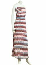 Bandeau Full Length Viscose Casual Dresses for Women