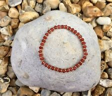 DEEP PINK JADE Semi Precious Gemstone Stacker Bracelet ~ by Lola & Lily Rose 🌹