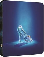 Cinderella Limited Edition Steelbook Blu-ray UK Exclusive NEW SEALED