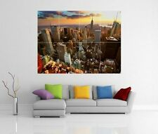 NEW YORK CITY GIANT WALL ART PICTURE PRINT POSTER G79